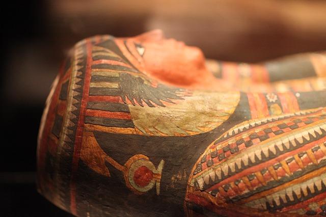 egyptská mumie