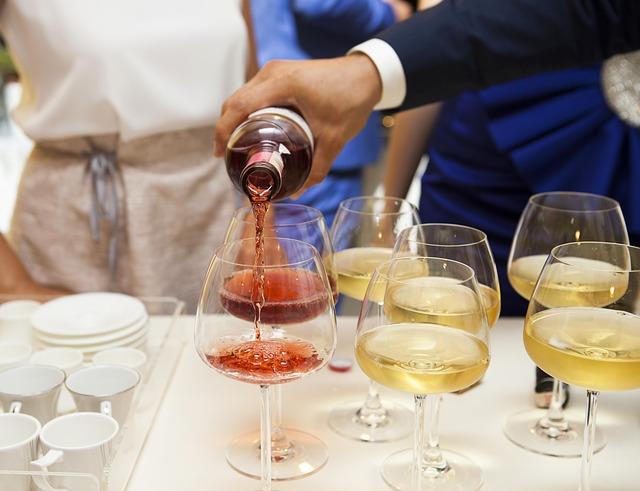 víno na přípitek