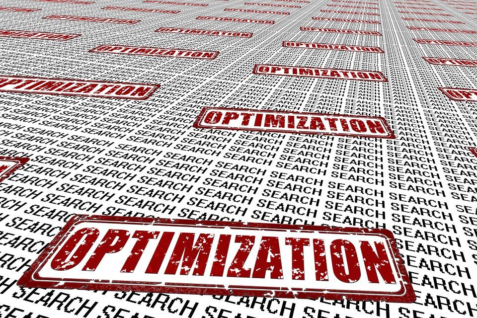 optimalizace text